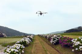 UAVによる撮影